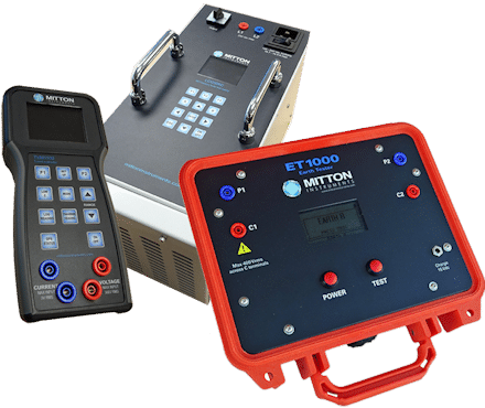 earth grid test equipment